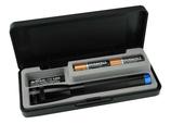 Maglite LED Blau Mini AA Schwarz Box