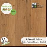 Sample PEX4003 Bel Air Extra Rustiek Naturel Geolied