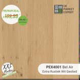 Sample PEX4001 Bel Air Extra Rustiek Wit Geolied