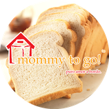 mommy to go morning kids - pan blanco