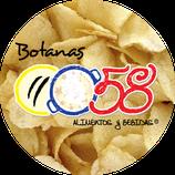 0058 botanas - Prêt à manger salado, sabor ahumado