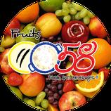 0058 frutas - Frozen pulp