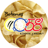 0058 botanas - Prêt à manger dulce, sabor a chocolate