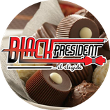 Black president chocolate the actor 500 gr.