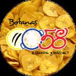 0058 botanas - Plátano