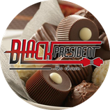 Black president chocolate the actor 100 gr.
