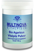 Bio Agaricus Pulver 100 g