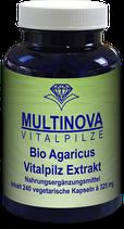 Bio Agaricus Kapseln Extrakt