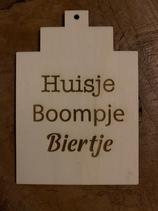 Tekstbord Huisje Boompje Biertje