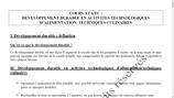 Cours ATA/TC 1è année- Fiches de cours PDF