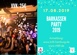 BARKASSEN PARTY 2019 - 17.08.2019