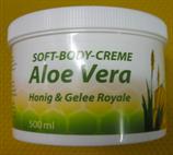 Soft-Body-Creme Aloe Vera Honig und Gelee Royal 500ml