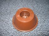 Futterteller konisch aus PVC
