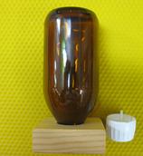 Medizinflasche mit Vierkantholz für Ameisensäure