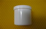 Cremetiegel aus Kunststoff, weiß, 30g/37ml
