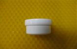 Cremetiegel aus Kunststoff, weiß, 5g/6ml