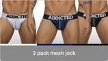 Addicted 3 Pack Mesh Jock Push up