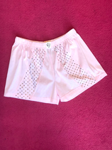 Bedazzled pink shorts