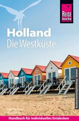Cover Reiseführer Holland. Die Westküste von Barbara und Hans Otzen