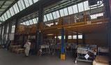 Attrezzature industriali e alimentari usate e stock for Capannoni in ferro smontati