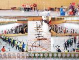 Fotocollage vom Dessauer Hallenpokal am 08.12.2013