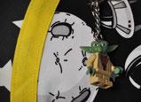 """Bild: """"Lego Yoda"""" an Galaxie Stoffschultüte von AnfängerGlück"""