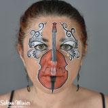 solenn minier maquilleuse professionnelle face painting maquillage violoncelle musique cello rennes bretagne