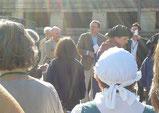 visite du député de la Nièvre Christian Paul et du Président du SMETCN Jean-Louis Lebeau