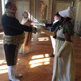 Cours de danses historiques contredanses