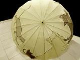 日傘・にゃんこの家族