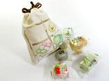 綿きんちゃく~和菓子と黒文字~