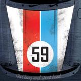 Sticker Porsche 911 Motorhaube  Brumos