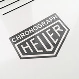 Heuer body sticker dark grey