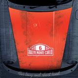 Sticker Porsche 911 Motorhaube Monte Carlo