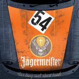 Sticker Porsche 911 Motorhaube Jägermeister