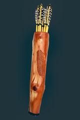Pfeilköcher-Holz