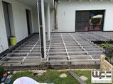 BPC WPC Aluminium Unterkonstruktion Alu UK auf Beton