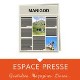 Achat de journaux à Manigod