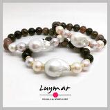perla plata joya joyería regalo compras perlas cultivadas pulsera luymar