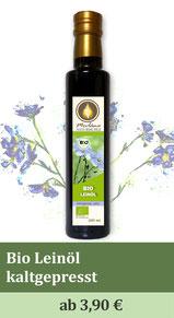 Leinöl, Bio-Leinöl, Leinsamenöl, Öl, kaltgepresst, Omega3 Fettsäuren