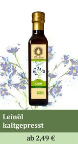 Leinsamenöl, Leinöl, kaltgepresst, Naturölmühle, Ölmühle, Kräuterölmühle