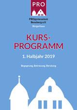 Titelbild Programmheft 1.HJ 2019