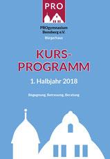 Titelbild Programmheft 1.HJ 2018