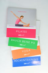 Verlag: Südwest  Buchtitel: Pilates, Yoga, Bauch Beine Po, Rückentraining  Autor: Thorsten Tschirner Erscheinungsjahr: 2011