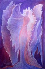 """Engel, Seite 21,  im Buch """"Meine liebsten Engelbilder"""" von Annelie Staudt"""