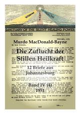 Die Zuflucht der Stillen Heilkraft, 12 Briefe aus dem Jahr 1951