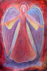 """Engel, Seite 11,  im Buch """"Meine liebsten Engelbilder"""" von Annelie Staudt"""