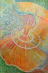 """Engel, Seite 13,  im Buch """"Meine liebsten Engelbilder"""" von Annelie Staudt"""