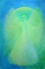 """Der Engel von Seite 7  im Buch """"Meine liebsten Engelbilder"""" von Annelie Staudt"""