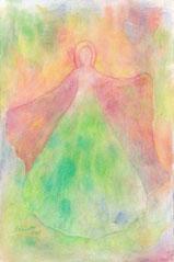 """Engel, Seite 18,  im Buch """"Meine liebsten Engelbilder"""" von Annelie Staudt"""